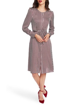 Crosby Stripe Long Sleeve Shirtdress by Court & Rowe