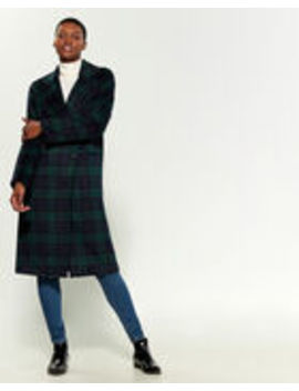 Tailored Plaid Coat by Avec Les Filles