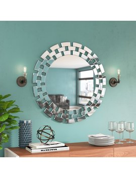 Modern & Contemporary Beveled Accent Mirror by Brayden Studio