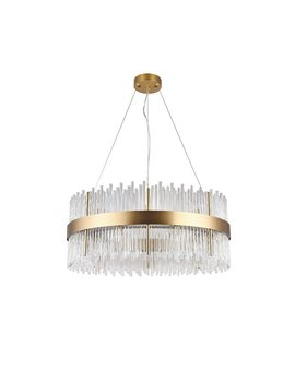 Pruitt 18 Light Unique / Statement Drum Chandelier by Everly Quinn