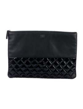 Quilted Large Pouch by Chanel