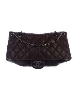 Elastic Cc Flap Bag by Chanel