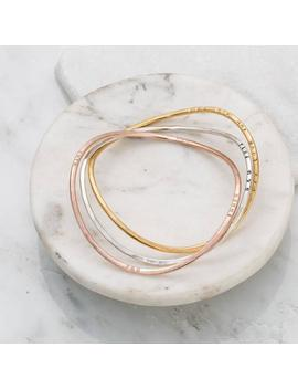 Personalised Infinity Bangle by Etsy