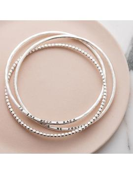 Personalised Russian Bead Bangle Set by Etsy