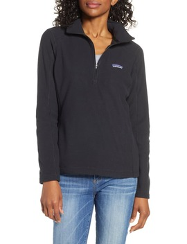 Micro D® Quarter Zip Fleece Pullover by Patagonia