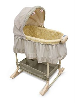 Bily™Bah Bah 2 In 1 Baby Bassinet by Walmart