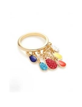 Swarovski Multi Color Teardrop Lacquer Ring 💍 by Swarovski
