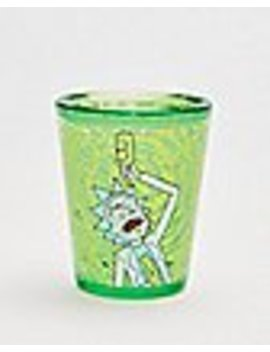 Rick And Morty Freezer Gel Shot Glass   1.5 Oz. by Spencers