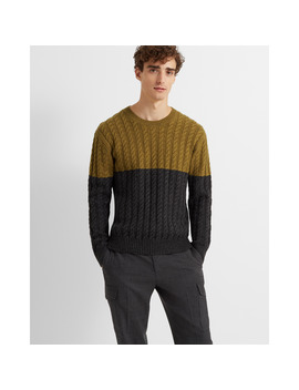 Modern Cable Crew by Club Monaco