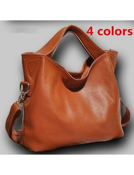 European American Fashion Leather Handbags Large Shoulder Bags Vintage Bag Women Leather Bags Designer  by Wish