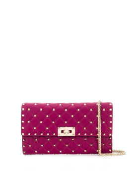 Rockstud Spike Crossbody Clutch Bag by Valentino