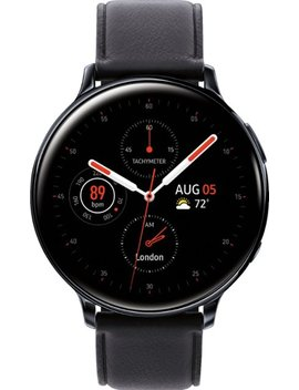 Galaxy Watch Active2 Smartwatch 44mm Stainless Steel Lte (Unlocked)   Black by Samsung