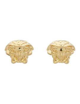 Gold Medusa Cufflinks by Versace