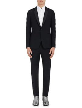 Kensington Wool Mohair One Button Tuxedo by Paul Smith