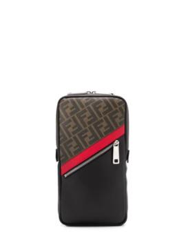 One Shoulder Backpack by Fendi