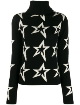 Star Intarsia Slim Fit Jumper by Perfect Moment