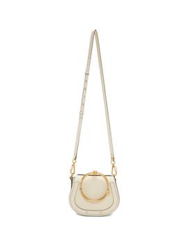 Off White Small Nile Bracelet Bag by ChloÉ