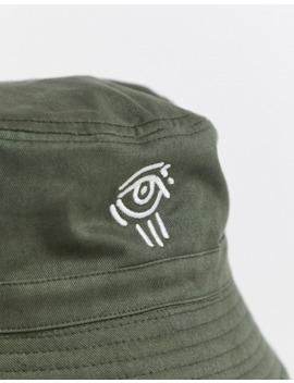 Asos Design X Ovie Green Bucket Hat by Asos Design