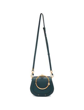 Navy Small Nile Bracelet Bag by ChloÉ