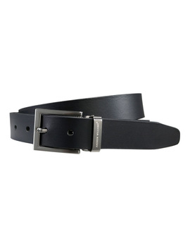 Black Genuine Leather Belt by Andrew Williams®