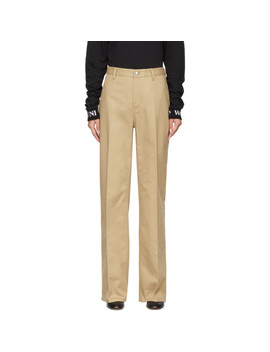 Brown Kelis Trousers by Won Hundred