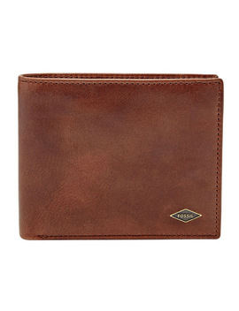 Ryan Rfid Large Coin Pocket Bifold Ml3736201 by Fossil