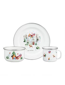 Christmas Homestead Enamel Dishware Collection by World Market