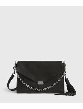 Miki Leather Shoulder Bag by Allsaints
