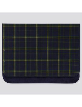 Fleece Blanket (Plaid Checked) by Uniqlo