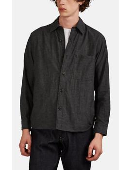 Quilted Cotton Flannel Shirt by Sage De Crêt