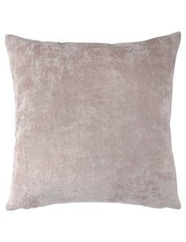 """Velvet Slub Pillow Cover – 18"""" X 18"""", Pink by Essex Park"""