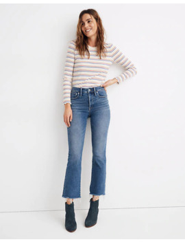 Cali Demi Boot Jeans In Fleetwood Wash by Madewell
