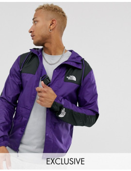 The North Face 1985 Mountain Jacket In Purple Exclusive At Asos by The North Face