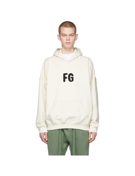 Off White Fg Everyday Hoodie by Fear Of God