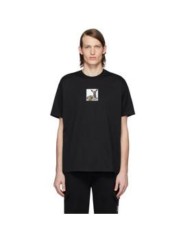 Black Deer T Shirt by Burberry