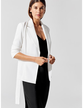 Belted Blazer by Carbon38