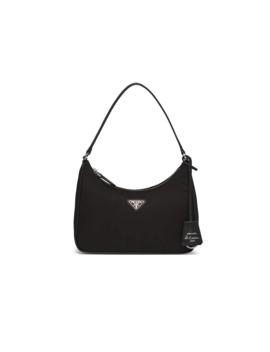 Prada Re Edition 2005 Nylon And Saffiano Leather Mini Bag by Prada