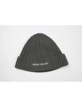 Rare Stone Island Wool Logo Beanie Hat by Stone Island  ×  Vintage  ×  Very Rare  ×