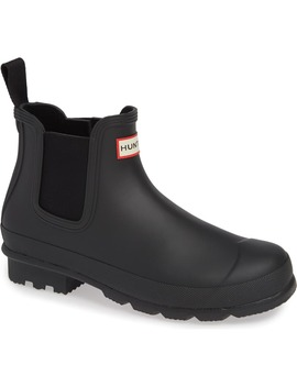 'original' Waterproof Chelsea Rain Boot by Hunter