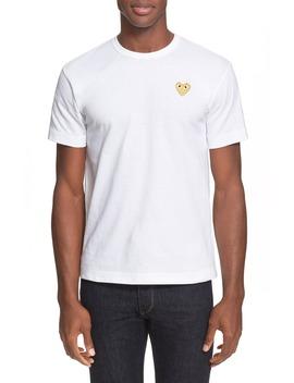 Slim Fit Crewneck T Shirt by Comme Des GarÇons Play