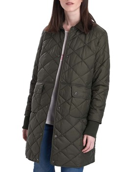 Jedburgh Diamond Quilted Coat by Barbour
