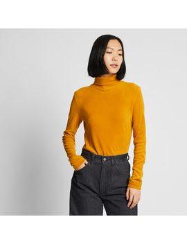 T Shirt Heatteach Polaire Col RoulÉ Femme by Uniqlo