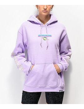 Broken Promises Spaced Out Lavender Hoodie by Broken Promises
