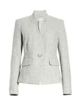 Farley Wool & Silk Blend Dickey Jacket by Veronica Beard
