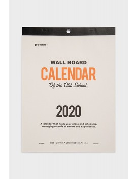 Hightide   2020 Penco Clip Board Calendar   A4 by Hightide