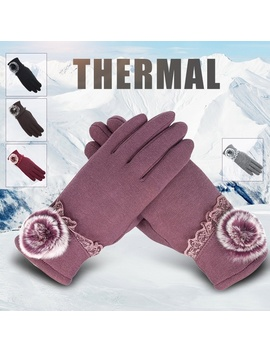 2018 New Women Female Thermal Touch Screen Winter Gloves Autumn Warm Gloves Wrist Mittens Driving Ski Windproof Glove  by Wish