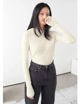 Linen Silk Blend Sweater by & Other Stories