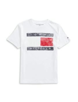Boy's Flag Logo T Shirt by Tommy Hilfiger
