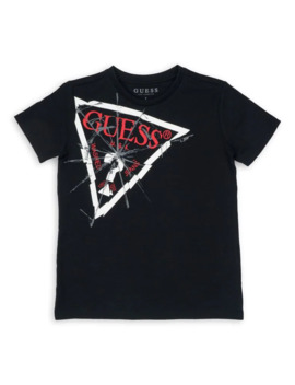 Logo Cotton Tee by Guess