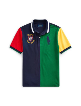 Boy's Cotton Mesh Polo by Ralph Lauren Childrenswear
